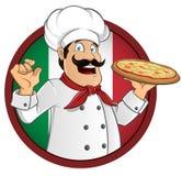 Cuoco unico italiano Fotografia Stock