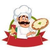 Cuoco unico italiano illustrazione vettoriale