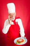 Cuoco unico italiano - delizioso fotografia stock