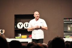 Cuoco unico Matt Moran della celebrità Fotografie Stock