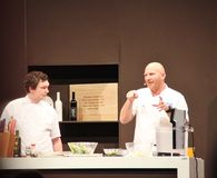 Cuoco unico Matt Moran della celebrità Immagine Stock