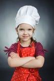 Cuoco unico piacevole Immagini Stock