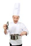 Cuoco unico scosso Fotografie Stock