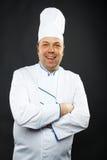 Cuoco unico sicuro Immagine Stock Libera da Diritti