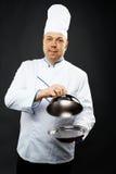 Cuoco unico sicuro Immagine Stock