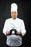 Cuoco unico sicuro Fotografia Stock
