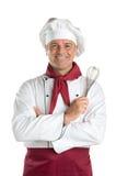 Cuoco unico sorridente Immagine Stock Libera da Diritti