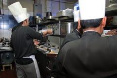 Cuoco unico sul lavoro Immagini Stock Libere da Diritti