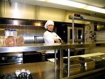 Cuoco unico - sulla riga Immagine Stock Libera da Diritti