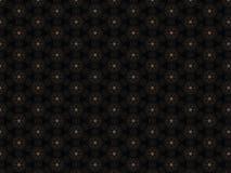 Cuoio del fondo con la stella multicolore con tessuto geometrico illustrazione di stock