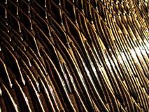 Cuoio del lusso del serpente del Brown Fotografie Stock