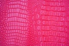 Cuoio rosa Fotografia Stock