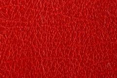 Cuoio rosso Immagini Stock