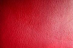 Cuoio rosso Fotografia Stock Libera da Diritti