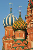 Cuola of St.Basil's Cathedral in Moscow Stock Images