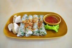 Cuon de Banh, comida vietnamita Imagen de archivo
