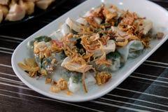 Cuon de Goi - petits pains frais vietnamiens d'été Photo stock