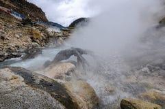 Cuopu-heiße Quelle stockfoto