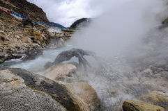 Cuopu hot spring Stock Photo