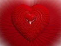 cuore 3D Immagine Stock