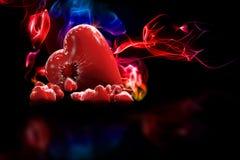 cuore 3D Fotografia Stock Libera da Diritti