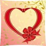 Cuore allo St.Valentine Fotografia Stock