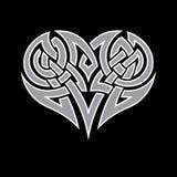 Cuore celtico Fotografia Stock