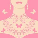 Molla nel cuore royalty illustrazione gratis