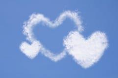 Cuore dalla nube Immagine Stock Libera da Diritti