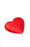 Cuore del biglietto di S. Valentino Fotografie Stock