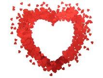 Cuore del biglietto di S. Valentino Immagine Stock Libera da Diritti
