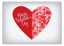 Cuore del biglietto di S. Valentino royalty illustrazione gratis