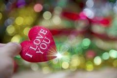 Cuore del biglietto di S. Valentino della raccolta della foto Fotografia Stock Libera da Diritti
