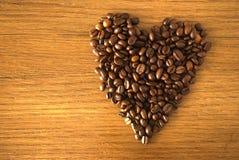 Cuore del caffè Immagine Stock Libera da Diritti
