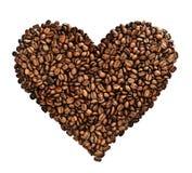 Cuore del caffè Immagine Stock
