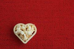 Cuore del cereale di schiocco Immagine Stock