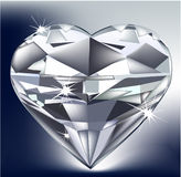 Cuore del diamante Royalty Illustrazione gratis