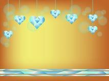 Cuore del diamante royalty illustrazione gratis