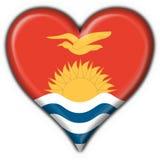 Cuore del tasto del Kiribati rotondo royalty illustrazione gratis