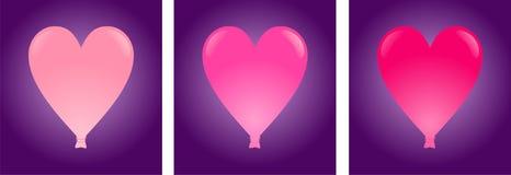 cuore dell'aerostato illustrazione vettoriale