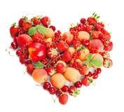 Cuore della frutta Immagine Stock Libera da Diritti