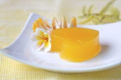 Cuore della gelatina Fotografia Stock