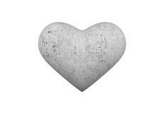 Cuore della pietra Immagine Stock