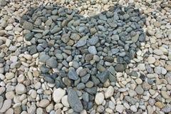 Cuore della roccia fotografia stock libera da diritti