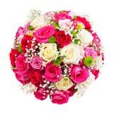 Cuore delle rose Immagini Stock