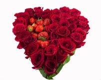 Cuore delle rose Immagini Stock Libere da Diritti