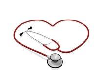 Cuore dello stetoscopio royalty illustrazione gratis