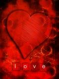 Cuore di amore Fotografie Stock Libere da Diritti