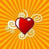 Cuore di amore illustrazione vettoriale