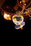 Cuore di cristallo fotografia stock libera da diritti